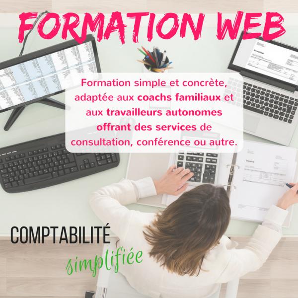 Comptabilité simplifiée - Formation en ligne pour coachs familiaux